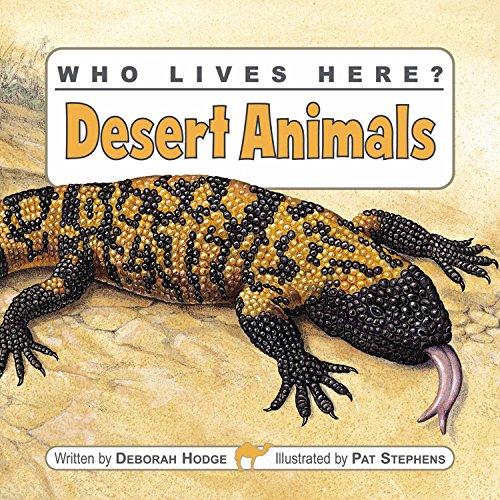 Who Lives Here? Desert Animals