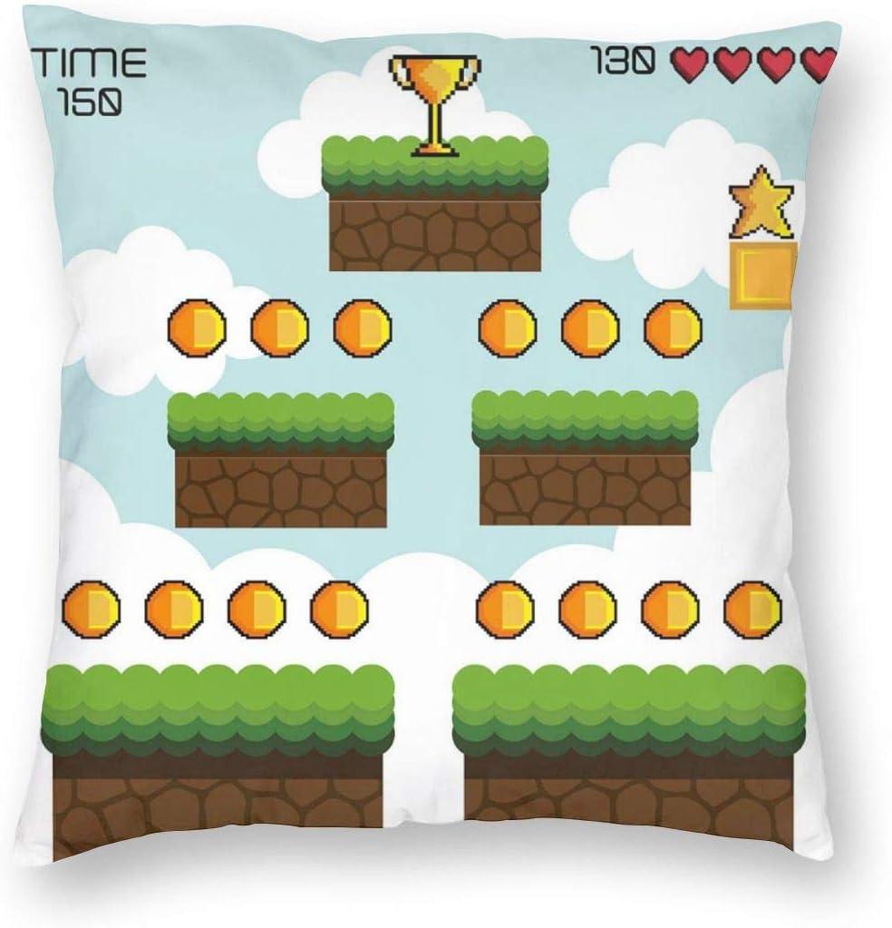 Level Up Throw Pillow