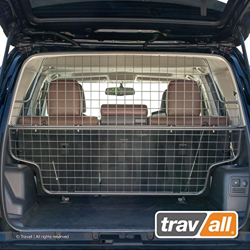 Tubular Pet Barrier - Travall Guard Compatible with Toyota 4Runner (2009-Current) TDG1576 - Rattle-Free Steel Pet Barrier