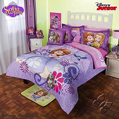 Disney Princess Sofia 9 Piece Reversible Comforter Set Full