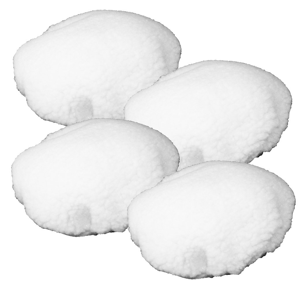Black & Decker WP900 Polisher (4 Pack) Replacement Wool Bonnet # 580753-01-4pk
