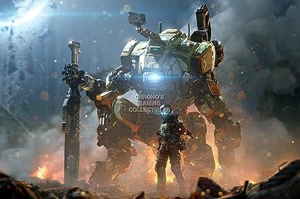 CGC – enorme Póster acabado brillante – 2 Ronin Xbox One Titanfall ...