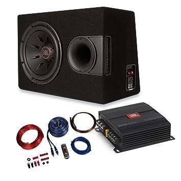 JBL - 2 Canales Amplificador/Amplificador + 30 cm Subwoofer + Cable Juego de 1100