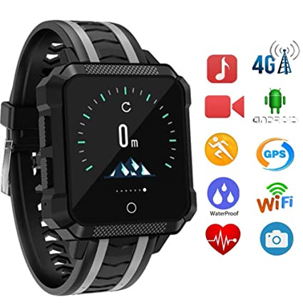 TONGTONG Smart Watch Men GPS Impermeable Smartwatch Android ...