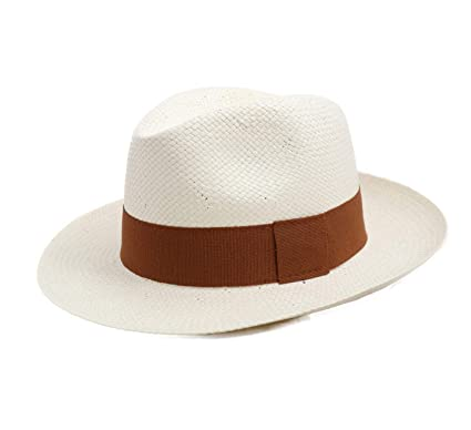 nouvelle apparence clair et distinctif grande remise Classic Italy - Chapeau Panama Paille - 2 Coloris - Homme ou Femme Classic  Paille Large