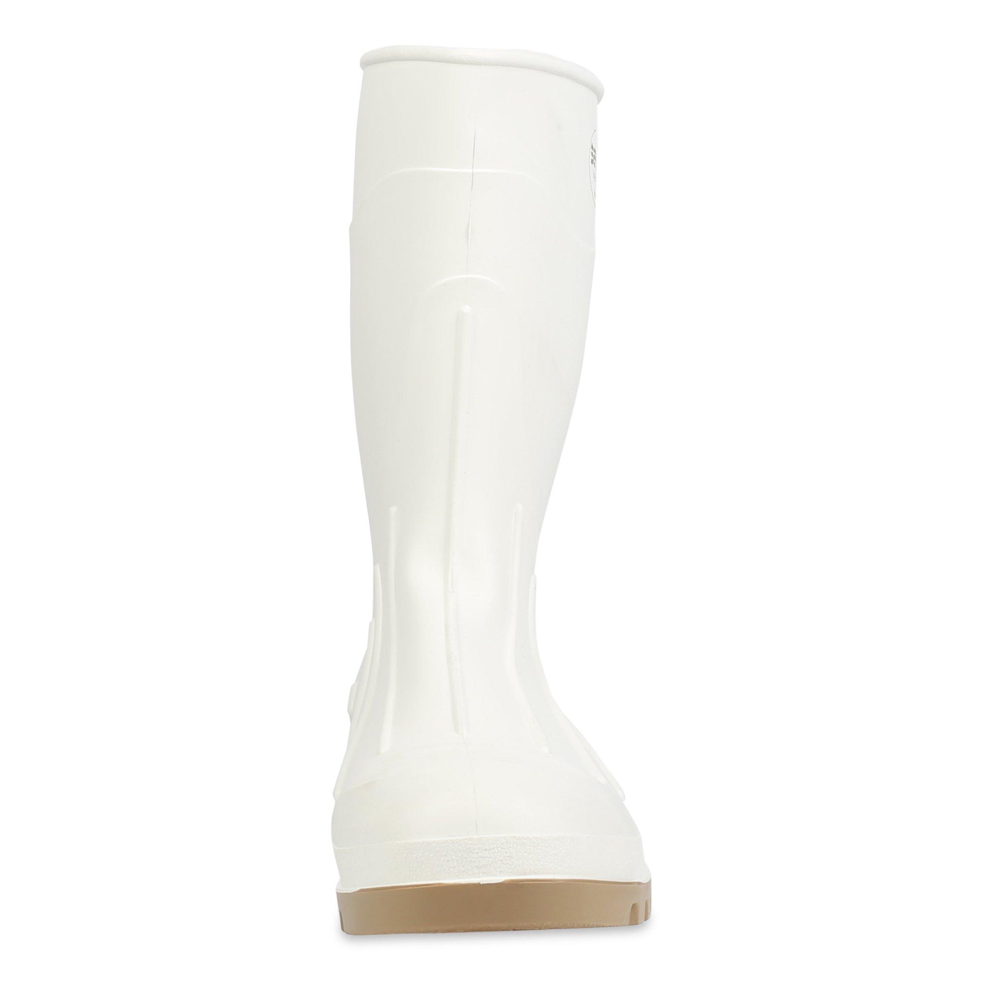 Servus 12'' PVC Polyblend Soft Toe Shrimp Boots, White (74928) by Honeywell (Image #2)
