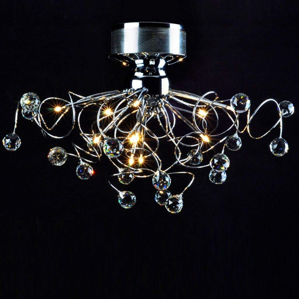 AXCJ Chandelier- The Crystal Chandelier- Lamps Lighting ...