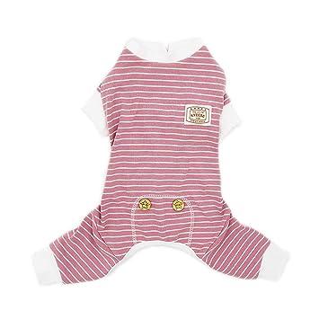 Amazon.com: Kyeese - Pijama de algodón elástico para perro ...