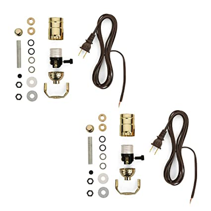 Pleasant Lamp Making Kit Electrical Wiring Kit To Make Or Refurbish Lamps Wiring Cloud Nuvitbieswglorg