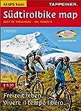 Südtirolbike map: Mountainbike Vinschgau (Mountainbike-Karten)