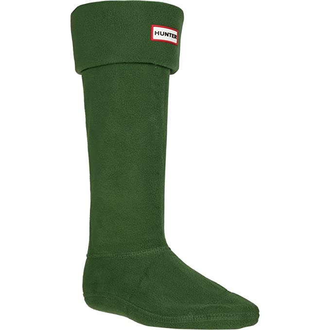 Hunter Boot Sock – Calcetines para mujer verde oscuro Large