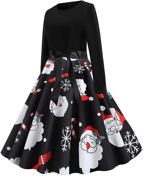 Sukienka damska Boże Narodzenie czarna vintage elegancka petticoat w kropki 50er Rockabilly Audrey Hepburn elegancka 1950 sukienka koronkowa 1950s retro koktajl party sukienka imprezowa: Odzież