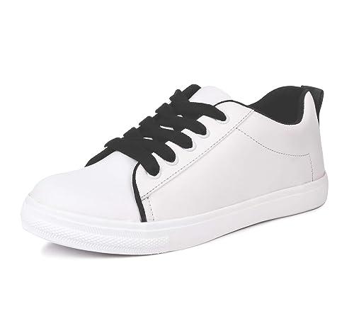 Buy Vendoz Women Stylish White Casual