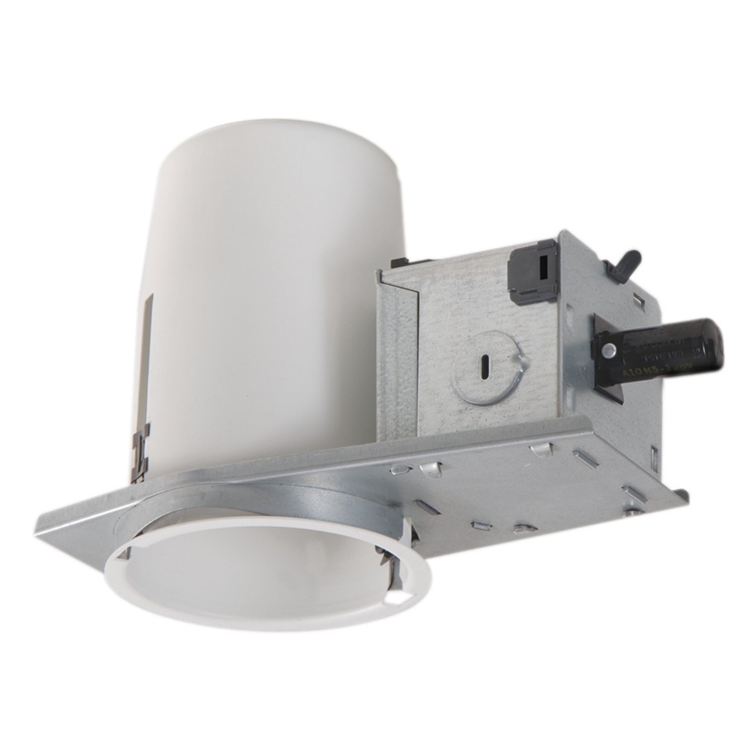 Halo recessed h36rtat 3 inch housing non ic air tite shallow ceiling halo recessed h36rtat 3 inch housing non ic air tite shallow ceiling 120 volt line voltage recessed light fixture housings amazon audiocablefo