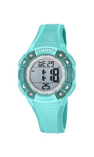 Calypso Reloj Digital para Unisex de Cuarzo con Correa en Plástico K5728/4: Calypso: Amazon.es: Relojes