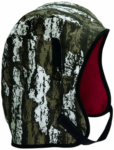 Mutual WL4-338 Kromer Hard Hat Winter Liner with Camo Long Nape, Bark