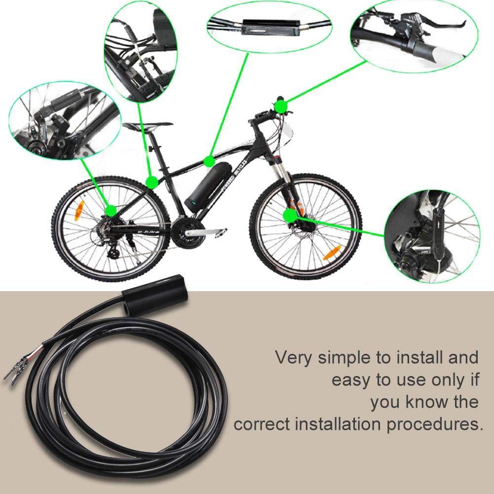 Sensor de Freno mec/ánico o Ebike Sensor de Freno Cable de 1,8 m Asixx Sensor de Freno Pedal de Freno Accesorio Nice para Bicicletas el/éctricas