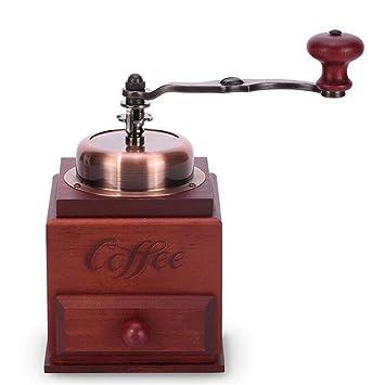 Máquina De Molienda Manual Molinillo De Pimienta Molinillo De Café Molido Molinillo De Café Molinillo Amoladora Ajustable: Amazon.es: Hogar