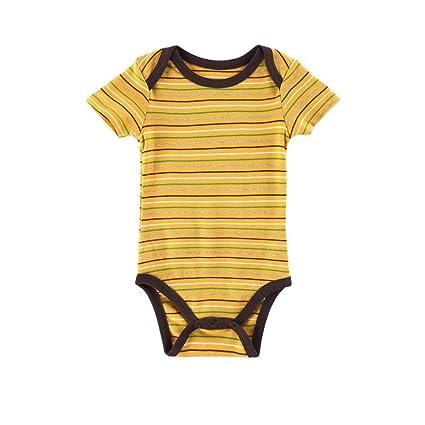 5a5243818 Amazon.com  Sleepsuits Newborn Infant Baby Boys Girls Striped Romper ...