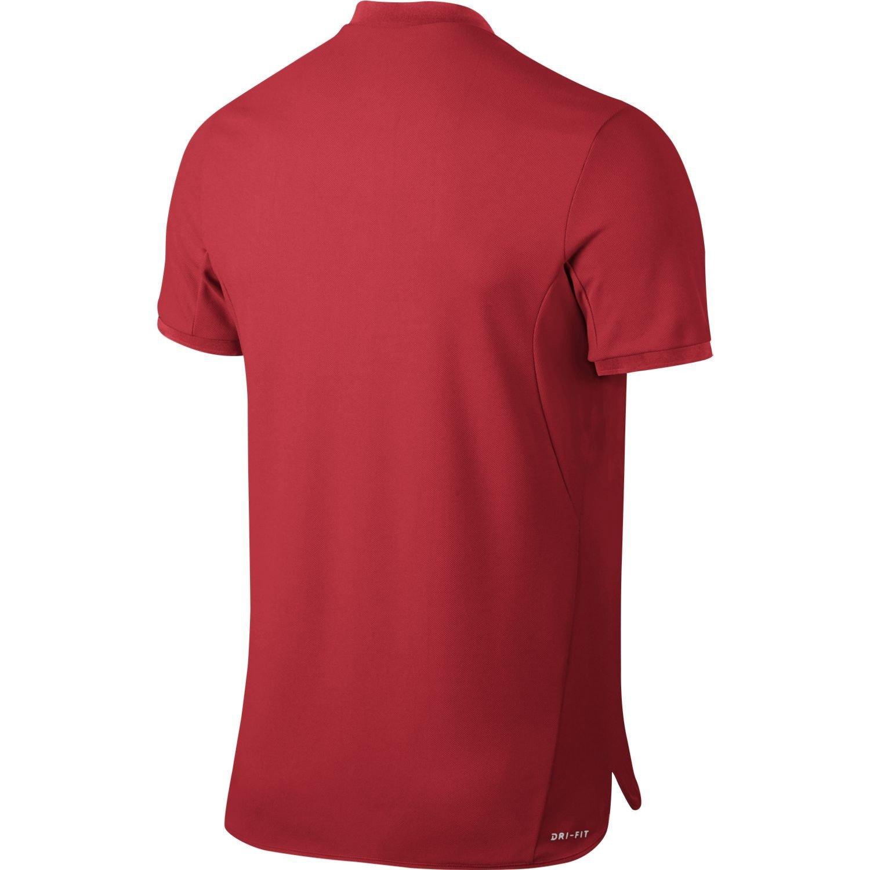 Nike M NKCT ADV Polo Solid PQ - Camiseta técnica, Mens, Rojo ...