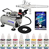 Best Master Airbrush Airbrush Makeup Kits - Complete Airbrush Face and Body Art Paint Airbrushing Review