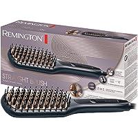 Remington Plattborste, keramiskt belagda & antistatiska borst med svala ändar, borstar och plattar håret, digital…