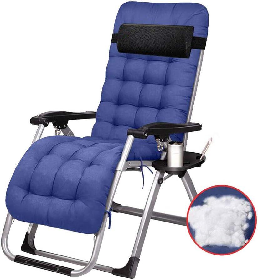 Lazy Chair Lounger Chair Sillas de relajación con portavasos y ...