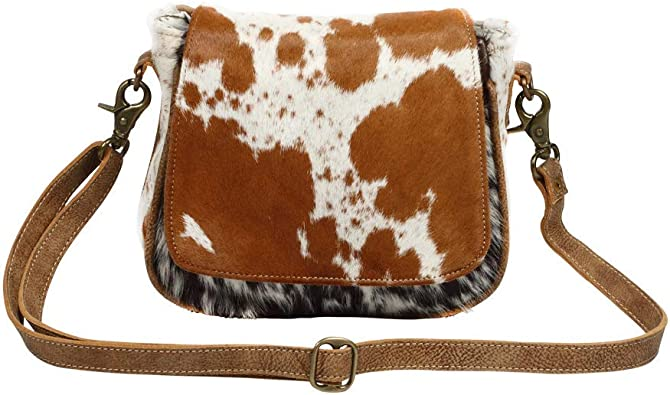Myra Bag Flap Over Cowhide Leather Small Crossbody Bag S 1215 Handbags Amazon Com Myra has black eyes, brown hair, and tan skin. myra bag flap over cowhide leather small crossbody bag s 1215