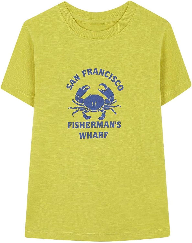 Gocco Camiseta Cangrejo, Amarillo (Amarillo Yb), 116 (Tamaño del Fabricante:5-6) para Niños: Amazon.es: Ropa y accesorios