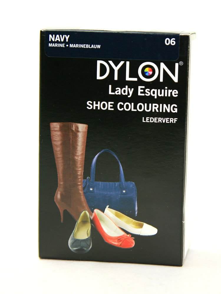 Dylon Lady Esquire Shoe Colouring Dye - Navy Blue