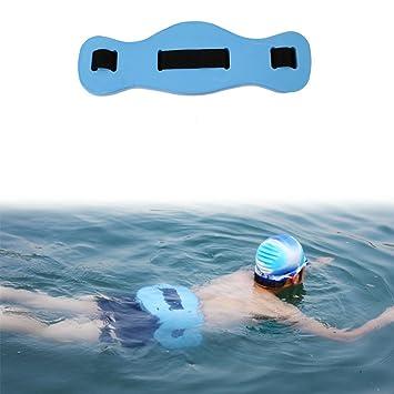 SHEDEU - Cinturón Flotante de Seguridad para Natación para Niños y Adultos, con Flotador de Entrenamiento EVA: Amazon.es: Deportes y aire libre