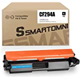S SMARTOMNI New Compatible CF294A Toner Cartridge Replacement for HP 94A CF294A Toner Work with HP Laserjet Pro M118dw MFP M1