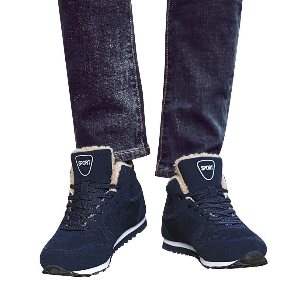 NIUJIN-men Shoes メンズ 11 41 M EU ブルー B07K65X7ZN