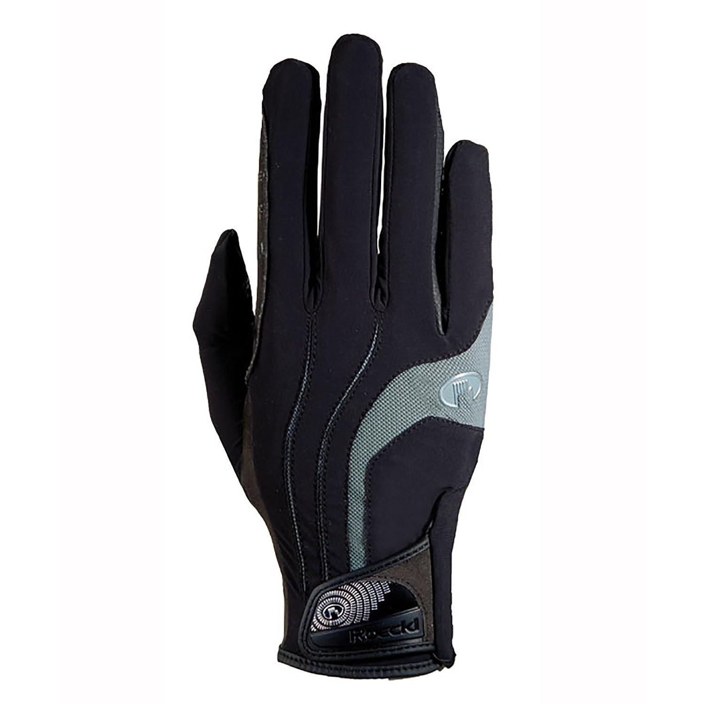 Roeckl – riding gloves MALIA B00XQFRVZ8 7|ブラック-グレー ブラック-グレー 7