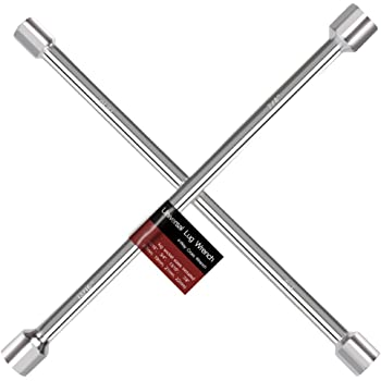 Cross Wrench T36238 Torin Big Red 23 Combination Metric /& SAE Lug Wrench 4 Way