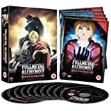 Fullmetal Alchemist Brotherhood Complete Series Collection (Episodes 1-64) [DVD]