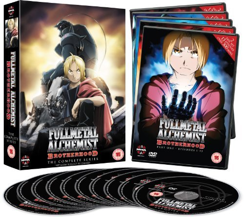 Fullmetal Alchemist Brotherhood Complete Series Collection (Episodes 1-64) [DVD] ()