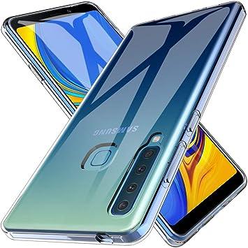 6f369049403 LK Funda para Samsung Galaxy A9 2018, Carcasa Cubierta TPU Silicona Goma  Suave Case Cover Play Fino Anti-Arañazos: Amazon.es: Electrónica