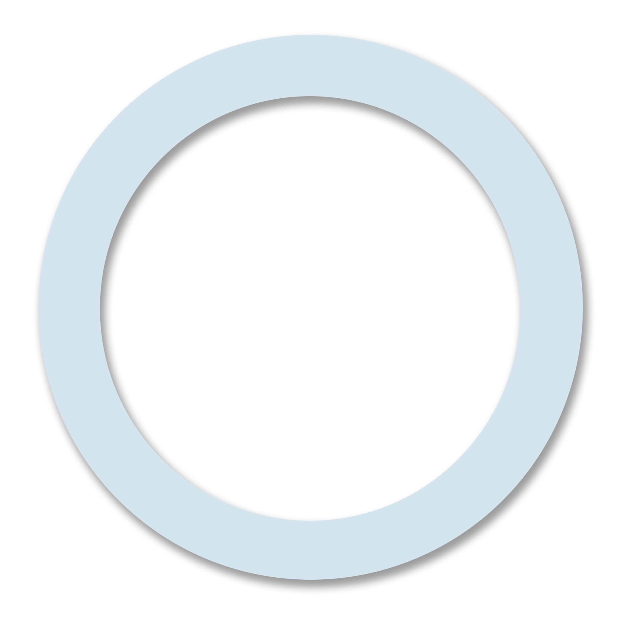 Cuisinox GAS-M6-SILICONE Silicone Gaskets for 6 Cup Espresso Makers, White