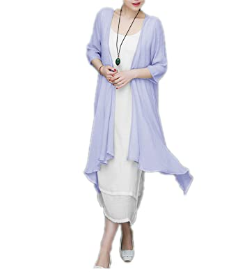 FBIIIOU Fashion cotton linen vintage plus size women casual loose long summer dress vestidos femininos two