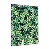 baked vapes - Weed Stoned Marijuana 420 Leaves Pattern Plastic Tablet Snap On Back Case Cover Shell For iPad 2 & iPad 3 & iPad 4
