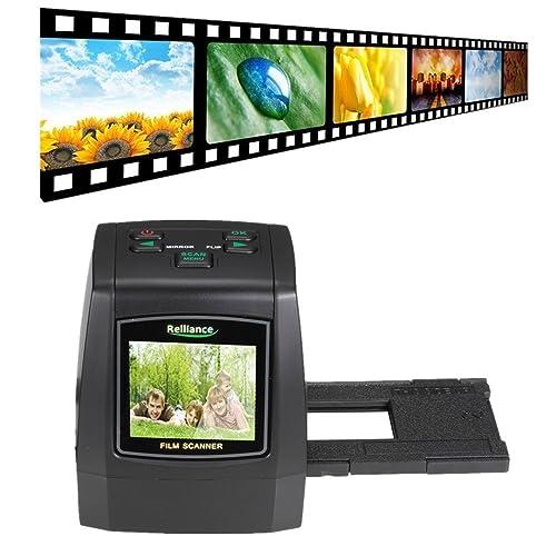 Digital Film Scanner, TechCode Film Slide VIEWER Scanner 14.0 Mega pixels Negative Film Slide VIEWER Scanner USB Digital Color Photo Copier(With 16G SD Card)