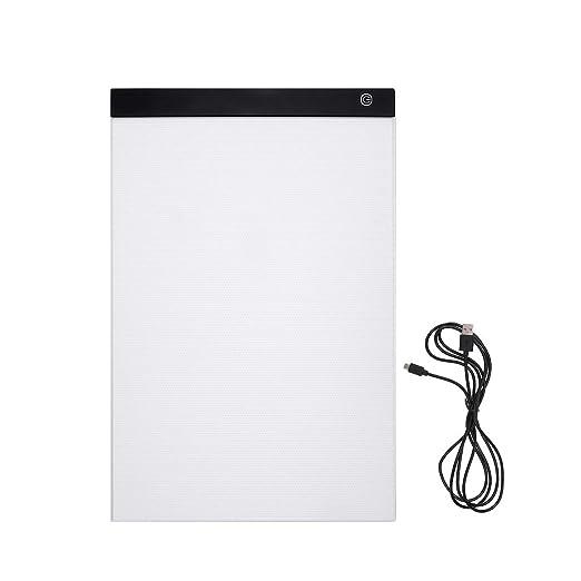HLBJ - Caja de luz A3 LED, Tabla de Dibujo LED, para Escritura ...