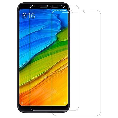 2-Unidades Cristal Templado Xiaomi Redmi 5 Plus, POOPHUNS Protector de Pantalla Xiaomi Redmi 5 Plus, Cristal Vidrio Templado Premium para Xiaomi Redmi 5 Plus, 9H Dureza, Resistentes a los Golpes, No se Rayan, Alta Sensible, A