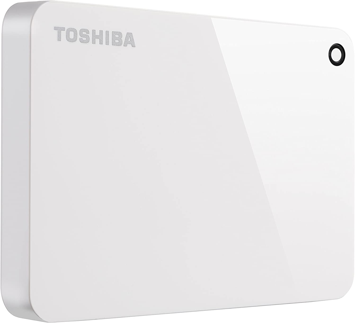 Toshiba (HDTC910XW3AA) Canvio Advance 1TB Portable External Hard Drive USB 3.0, White