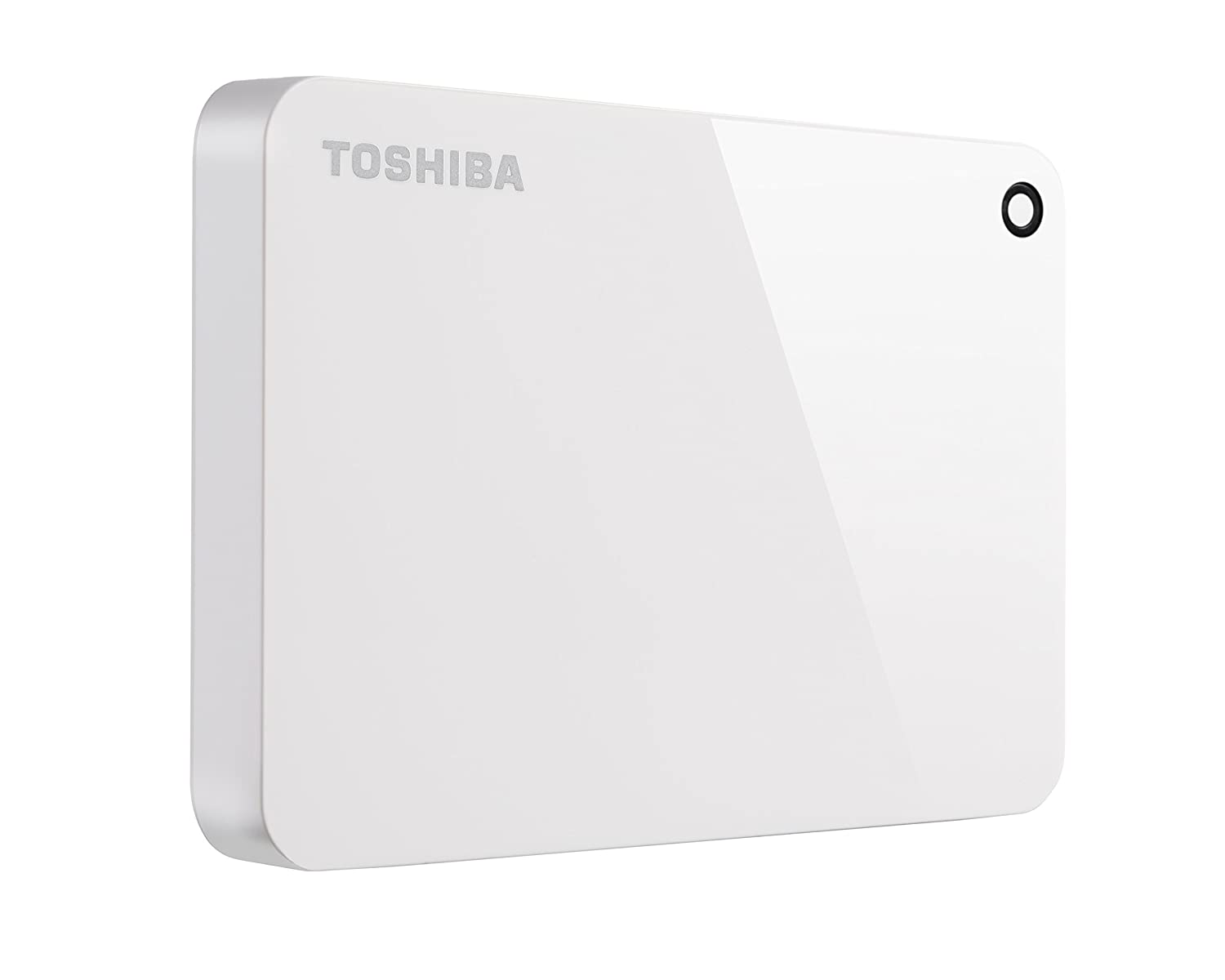 Toshiba HDTC920XW3AA Canvio Advance 2TB Portable External Hard Drive USB 3.0, White
