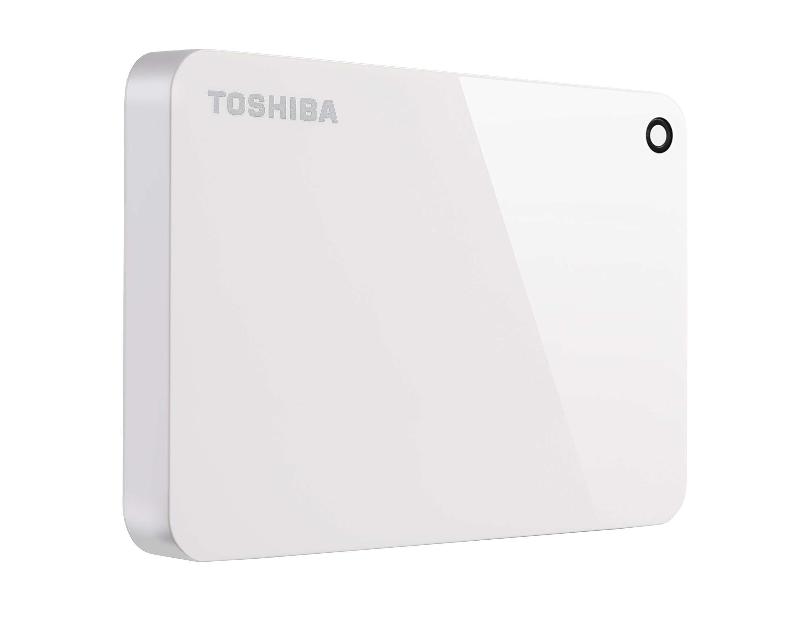Toshiba Canvio Advance 2TB Portable External Hard Drive USB 3.0, White (HDTC920XW3AA) by Toshiba (Image #1)