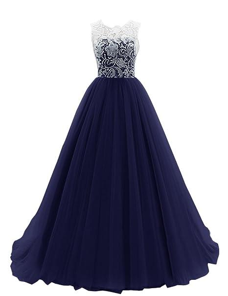 Dresstells largo para mujer rollo de tul de Fiesta para vestido de noche formal Fiesta Maxi