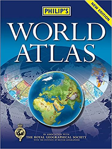 Philips world atlas hardback amazon 9781849073936 books gumiabroncs Image collections