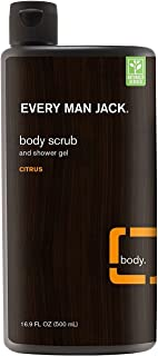 product image for Every Man Jack Body Scrub And Shower Gel 16.9 Ounce Citrus (500ml) (2 Pack)